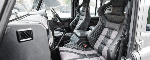 NU, acesta nu este un Bentley, ci doar o simpla camioneta Land Rover