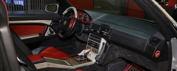 Nu ai mai vazut asa Mercedes: masina germana are motor de 7.3 litri din fabrica