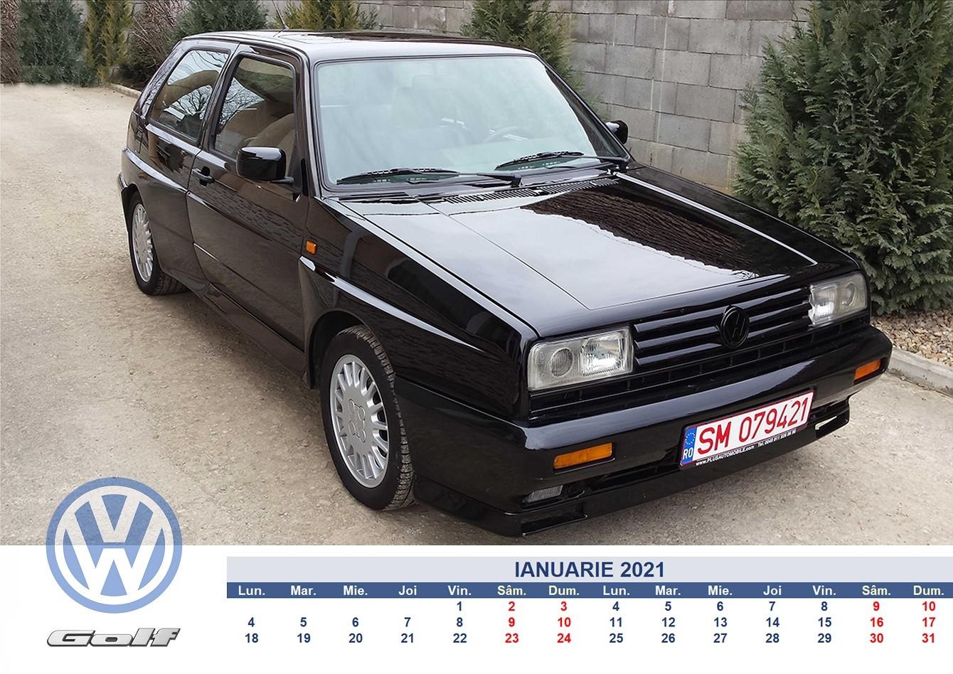 Nu ai voie sa ratezi aceste poze daca esti fan Volkswagen. Calendar pe 2021 cu cele mai tari Golf-uri clasice din Romania - Nu ai voie sa ratezi aceste poze daca esti fan Volkswagen. Calendar pe 2021 cu cele mai tari Golf-uri clasice din Romania