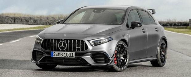 Nu are rival in lume. Mercedes lanseaza noul A45 AMG cu cel mai puternic motor cu patru cilindri din industrie