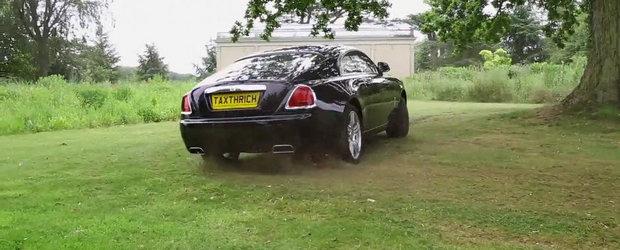NU asa se trateaza un Rolls-Royce...