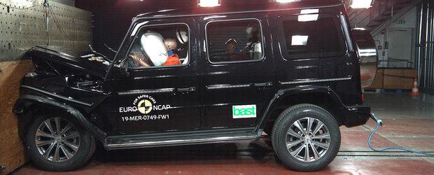 """Nu degeaba este poreclit """"Seiful"""". Noul G-CLASS a impresionat la testele de siguranta Euro NCAP"""
