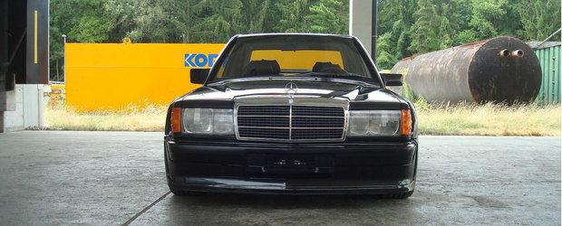 Nu e chiar modelul de 235 CP, insa te vei indragosti instant de el. Cum arata si cat costa acest Mercedes 190 Evo