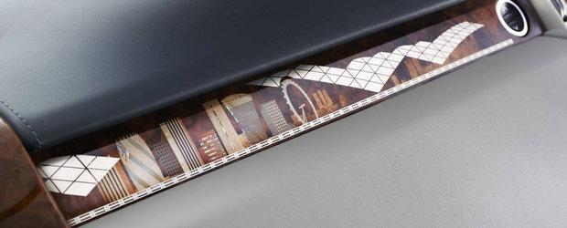Nu e cu nimic mai prejos decat Bentley Bentayga. In plus, exista doar un singur exemplar in toata lumea