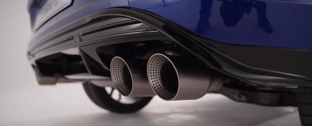 Nu e opera vreunui tuner, ci noua masina de 300 CP de la Volkswagen. VIDEO ca sa te convingi si singur