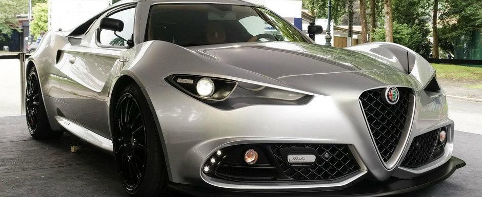 Nu este doar un vis, ci exista si chiar arata grozav in lumea reala. Poze din Italia cu noua Alfa Romeo Mole Costruzione Artigianale