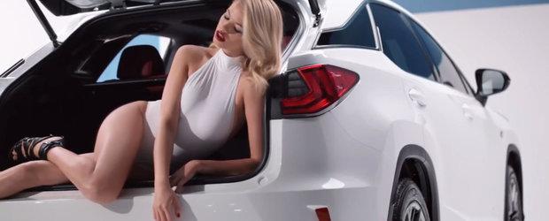Nu exista Lexus mai sexy ca noul RX. De vina pentru asta e Hailey Clauson
