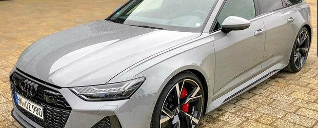 Nu i-a venit sa creada ca-l vede deja pe strada. Uite cum arata, de fapt, noul Audi RS6 Avant!
