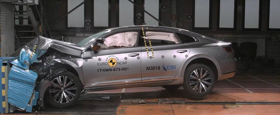 Nu-i numai frumos, ci si foarte sigur. Noul Volkswagen Arteon a primit 5 stele la EuroNCAP