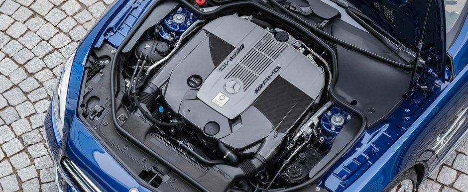 Nu-i pacaleala de 1 aprilie. Mercedes-Benz opreste productia acestui model cu motor V12