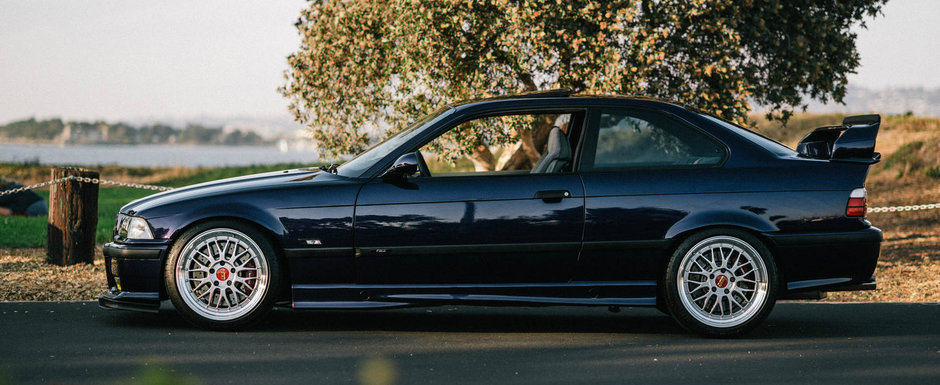 Nu-l mai incanta nicio masina noua si nu e greu sa-ti dai seama de ce. Conduce zi de zi un BMW M3 E36 complet modificat