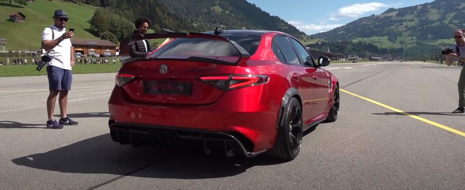 Nu le-a mai pasat de Ferrari, Pagani sau Koenigsegg cand au vazut pe viu noua ALFA. VIDEO