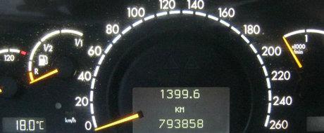 Nu multe masini de lux ajung pana aici. Uite Mercedes-ul S care a parcurs aproape 800.000 de km!