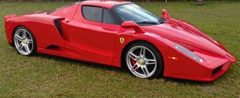 NU, nu o sa ghicesti niciodata ce se ascunde sub caroseria acestui 'Enzo Ferrari'