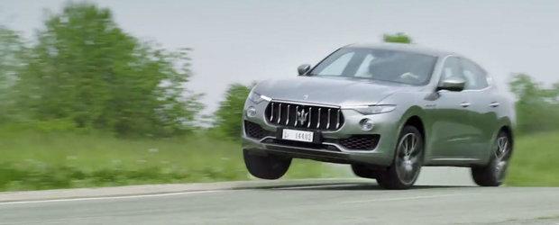Nu o fi el chiar cel mai atragator SUV din lume, insa noul Maserati Levante stie clar cum sa atraga atentia