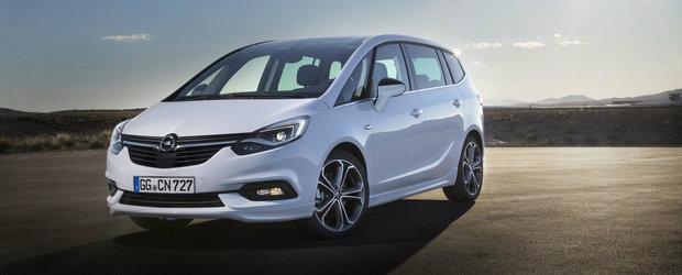 Nu o sa-ti mai doresti niciodata un alt monovolum dupa ce o sa vezi noul Opel Zafira. Arata bestial!