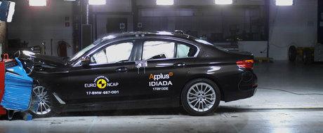 Nu s-a facut deloc de rusine. Noul BMW Seria 5 ia punctaj maxim la EuroNCAP