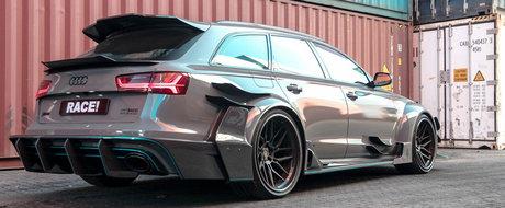 Nu s-a uitat la bani cand si-a tunat Audi-ul RS6. Acum conduce una dintre cele mai tari masini din lume