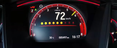 Nu s-au lasat pana nu au atins 200 de km/h cu noul Civic Type R. Cum s-a descurcat hot-hatch-ul japonez