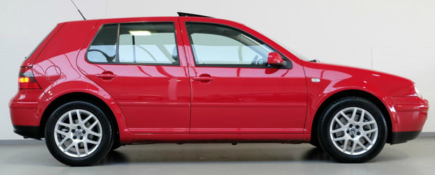 Nu se mai fac ca pe vremuri: acest Volkswagen din anul 2001 are motor V5 si se vinde ca nou