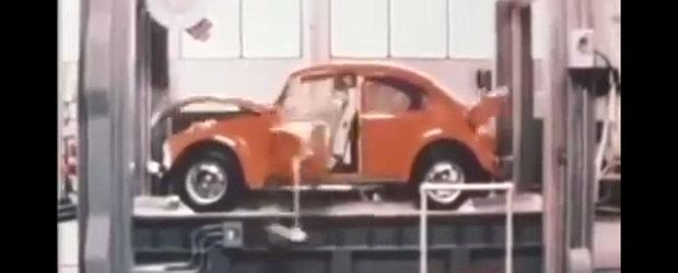 Nu se mai fac masini ca altadata. Uite cum se testau inainte modelele Volkswagen