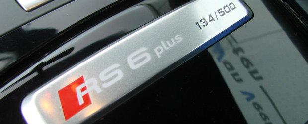 Nu se mai fac masini ca pe vremuri. Acest Audi A6 din 2010 are patru portiere si un motor V10 biturbo