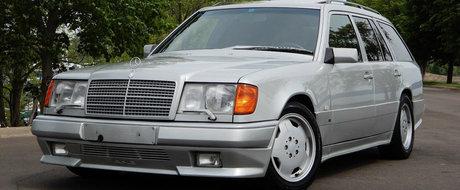 Nu se mai fac masini ca pe vremuri. Acest Mercedes-AMG a fost construit inainte ca cele doua companii sa fuzioneze