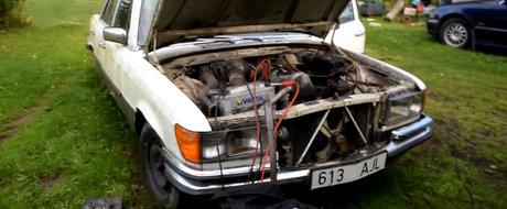 Nu se mai fac motoare ca pe vremuri. Cum porneste un Mercedes diesel dupa 9 ani