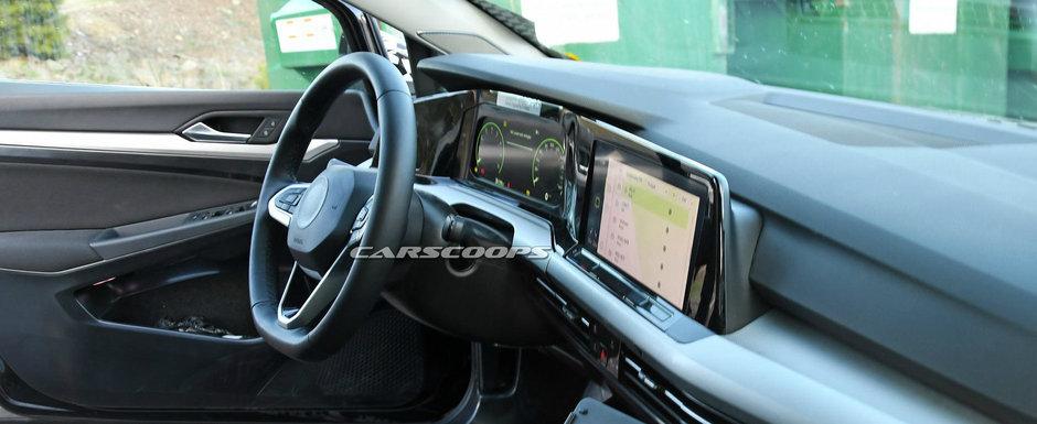 Nu seamana deloc cu generatia actuala si e complet diferit de orice alt VW. Uite cum arata la interior noul GOLF 8!