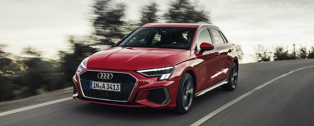 Nu te-ai hotarat daca noul Audi A3 este mai tare decat Seria 1 si A-Class? Uite o GALERIE FOTO care sa te ajute