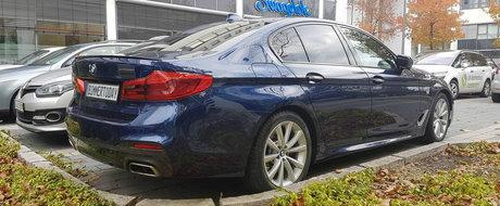 Nu te-ai saturat inca de el? Atunci mai 'pofteste' la o serie de imagini reale cu noul BMW Seria 5