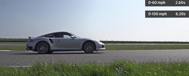 Nu te grabi sa pariezi impotriva Porsche-lui 991 Turbo S...