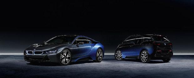 Nu te mai saturi sa le privesti. BMW-urile i3 si i8 transformate in adevarate opere de arta cu editia speciala Crossfade