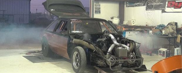 NU te uita la filmul asta daca iti plac prea mult masinile tunate: Un Mustang twin-turbo isi da duhul pe dyno
