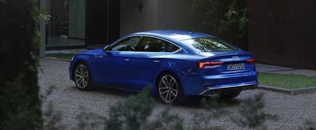 NU te vei mai dezlipi de ecran. Uite cat de bine arata noul Audi A5 Sportback!