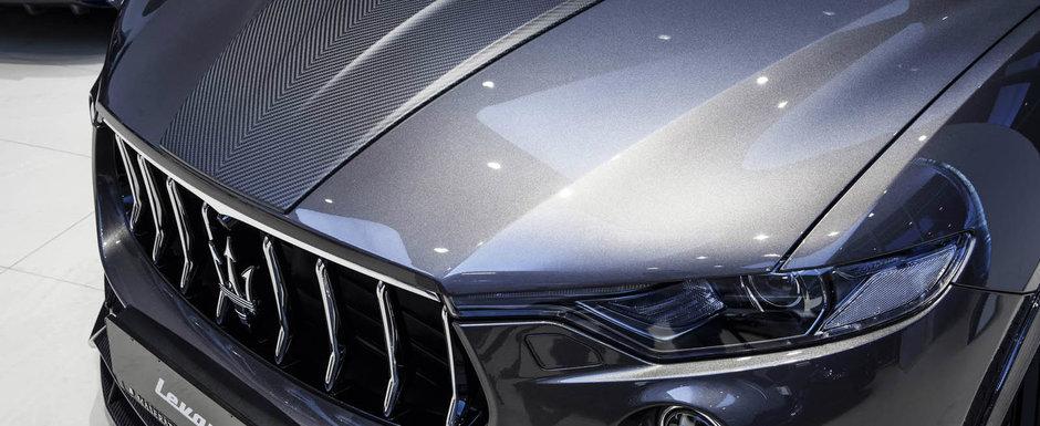 Nu-ti mai poti lua ochii de la el. Cum arata SUV-ul Levante dupa ce a trecut pe la specialistii Larte Design