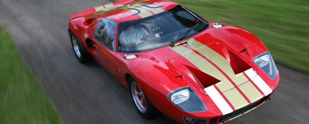 Nu-ti permiti un Ford GT40 dar nici nu ai intrat pe lista scurta pentru noul GT? Nicio problema,Superformance are raspunsul