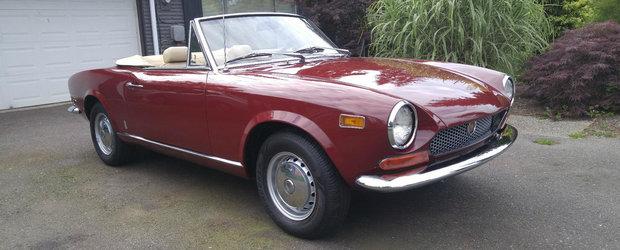 Nu-ti place noul Fiat 124 Spider? Atunci cumpara-l pe cel vechi. Unul s-a dat recent cu suma asta