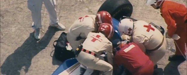 Nu trebuie sa uitam: accidentul fatal al lui Ayrton Senna, inregistrarea din cursa