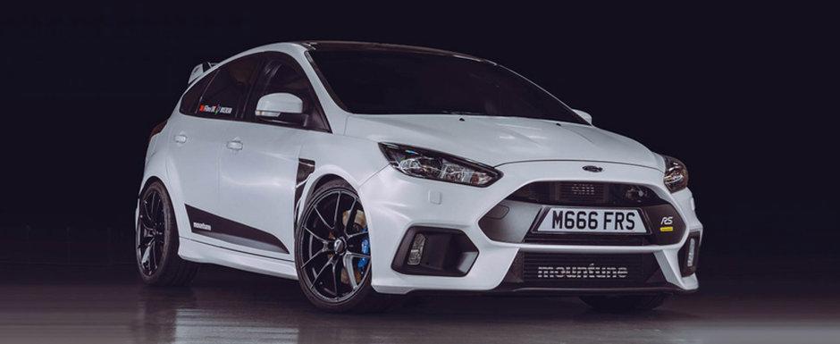 NU vei apuca sa vezi prea des fata acestui Focus RS: masina americana are 700 de Nm si fuge de mananca pamantul
