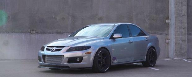 Nu vezi in fiecare zi o Mazda6 cu peste 800 CP si care scuipa flacari pe evacuare. Sa fie asta sleeperul perfect?