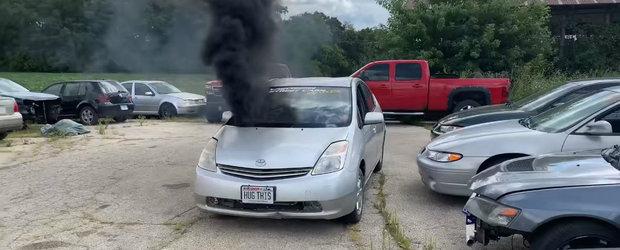 Nu vezi in fiecare zi o Toyota Prius cu motor turbo-diesel si tractiune spate. VIDEO