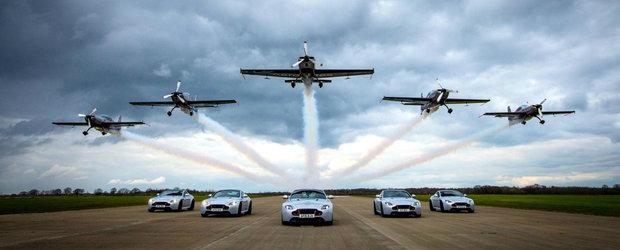 Nu vor uita niciodata surpriza asta. Cadoul Aston Martin pentru clientii editiei V8 Vantage S Blades