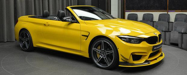 Nuanta Speed Yellow n-a fost de ajuns. BMW-ul asta M4 este impodobit cu elemente AC Schnitzer si carbon