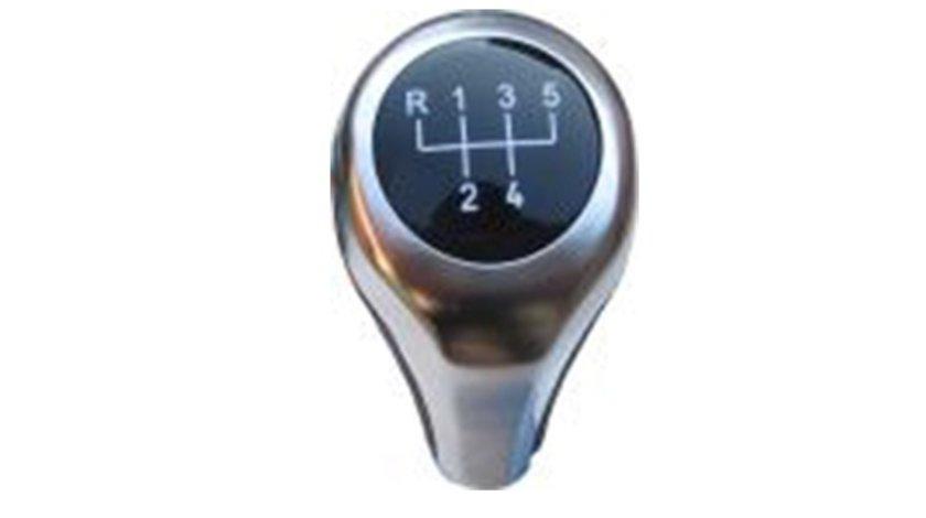 Nuca schimbator BMW Seria 5 (E60, E61), Seria 6 E63 Seria 1 (E82, E87) , Seria 3 (E90, E91, E92) , X1 (E84) , X3 (E83), X5 E53 , maciuca schimbator crom cu 5 trepte Kft Auto