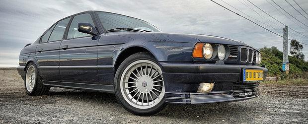 Numai 507 exista in lume, iar unul se vinde acum. Pretul acestui Alpina B10 Bi-Turbo