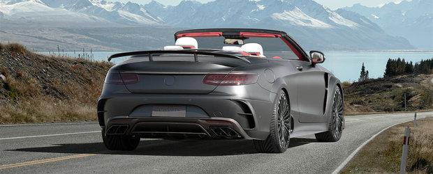 Numai un singur om de pe planeta poate avea acest Mercedes S-Class furios si iute