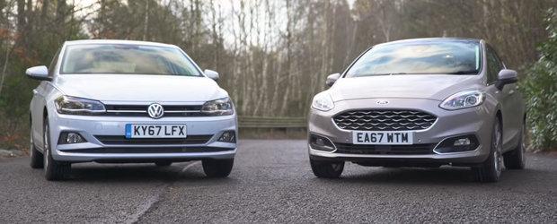 Numai una poate fi incoronata cea mai buna masina de clasa mica. Cine sa fie? Noul POLO sau noul FIESTA?