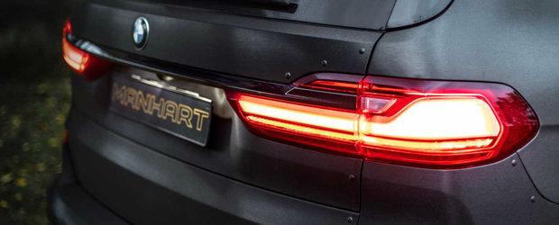 Numele sau este Dirt Edition si este un BMW X7 care nu se teme de terenul accidentat. POZE