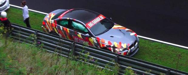 Nurburgringul mai face o victima: un M3 E92 sfarseste cu airbagurile deschise